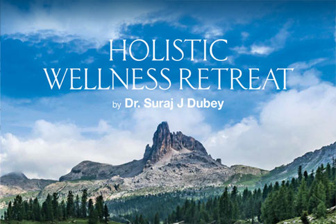 Holistic wellness retreat