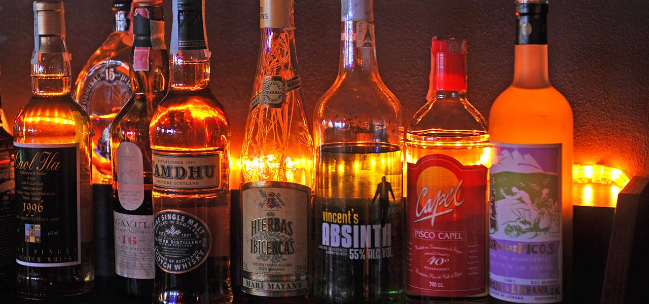 Choice of Whisky and Drinks