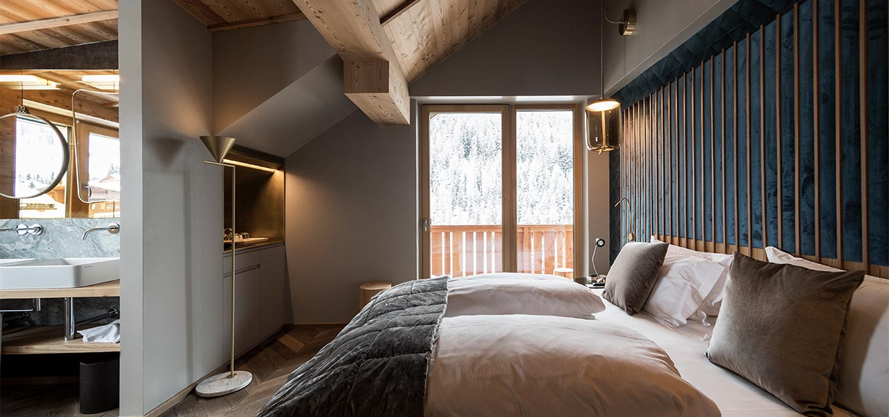 Penthouse Suite At The Rosa Alpina In San Cassiano - Rosa alpina