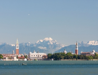 From the Venetian lagoon to the Dolomites